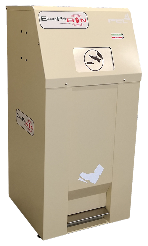 ElectroPak - IoT Litter Bin from PEL Waste Reduction Equipment