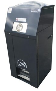 PEL120SSB-SOLARSTREETBIN™ LITTER BINS INSTALLED IN GALWAY CITY