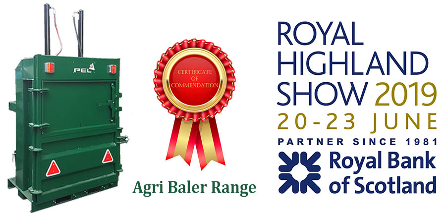 ROYAL HIGHLAND SHOW AGRI BALER INNOVATION AWARD