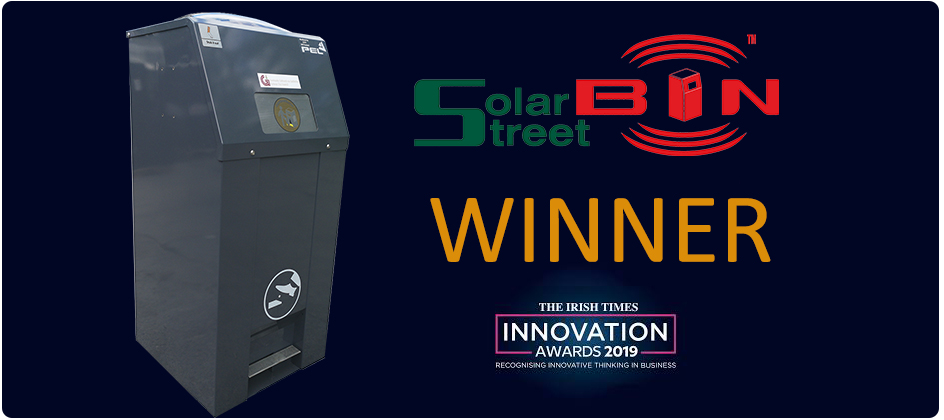 PEL Waste Reduction Equipment Winner of Irish Times Innovation Award 2019
